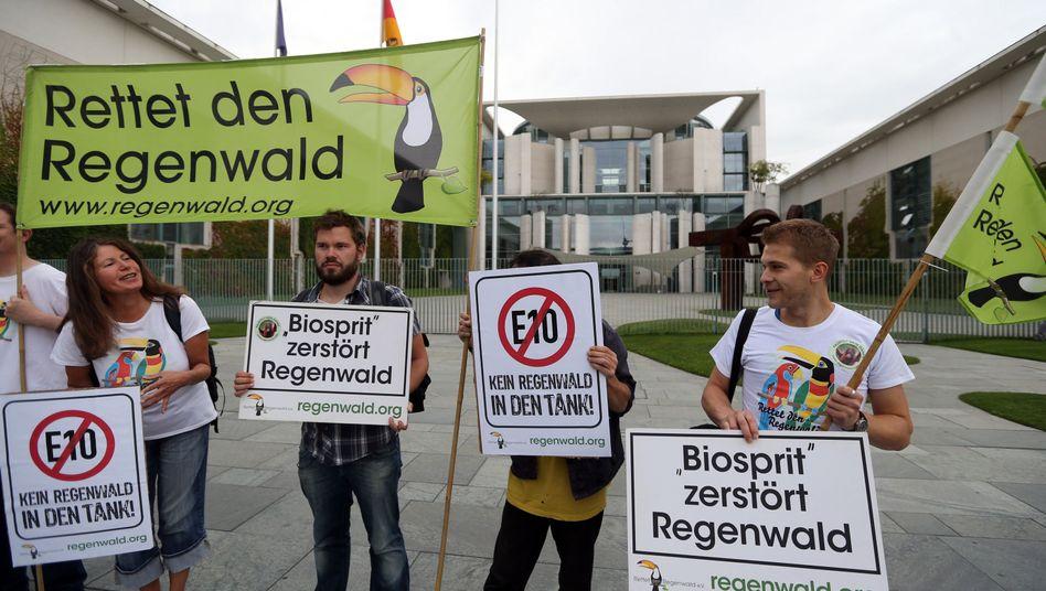 Proteste vor dem Energiegipfel: Mehrere Baustellen gleichzeitig