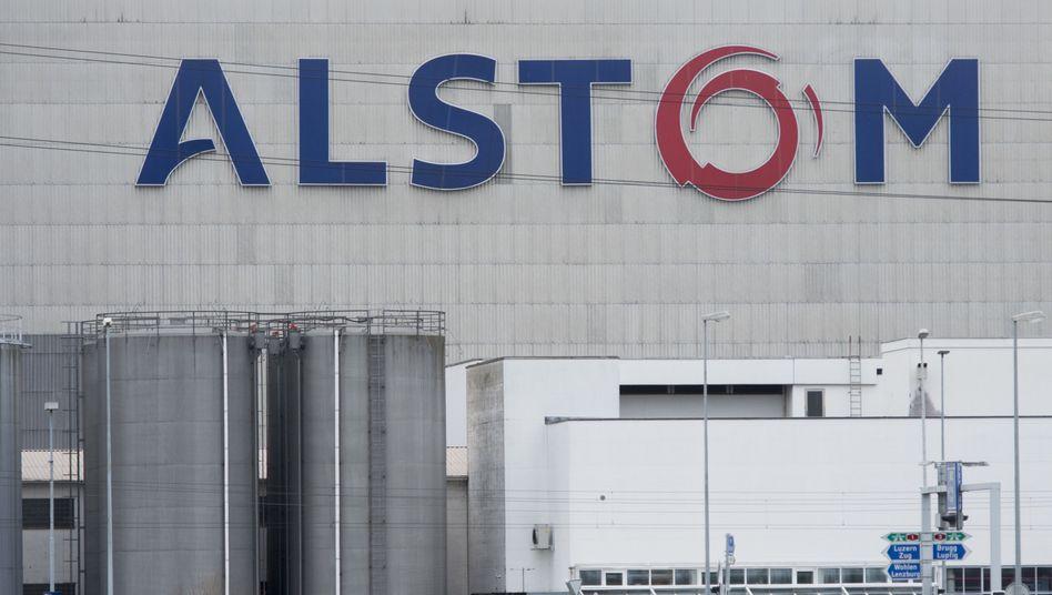 Alstom-Produktionsstätte im Schweizer Kanton Aargau