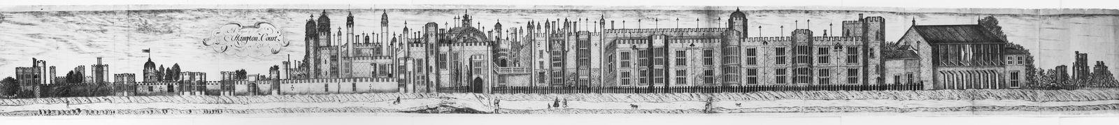 EINMALIGE VERWENDUNG AUSGEGRABEN Hampton Court Palace