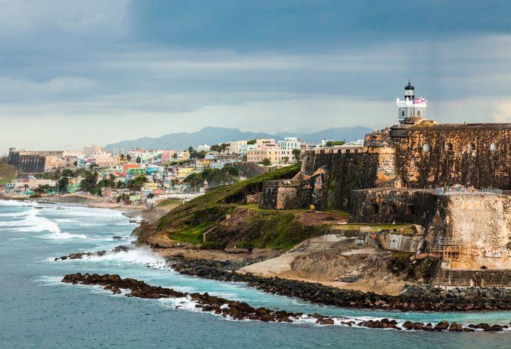 San Juan: Puerto Rico in der Karibik ist das größte Außengebiet der USA