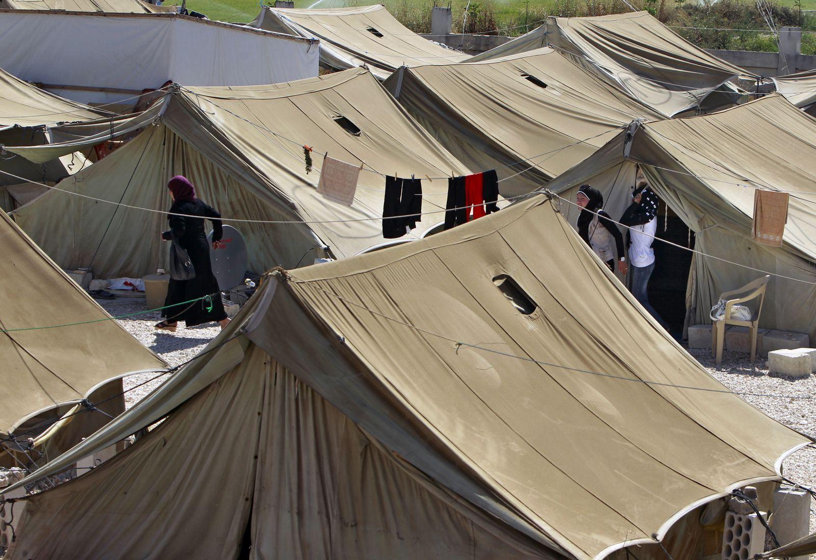 Syrische Flüchtlinge / Camp / Libanon