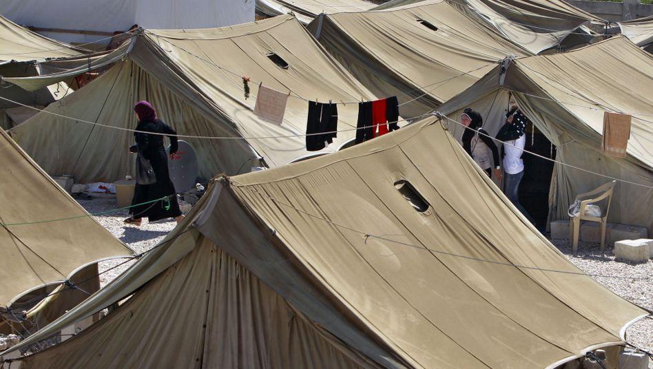 Flüchtlingscamp: Viele sehr arme und immens reiche Menschen leben im Libanon - ideale Bedingungen für den Organhandel