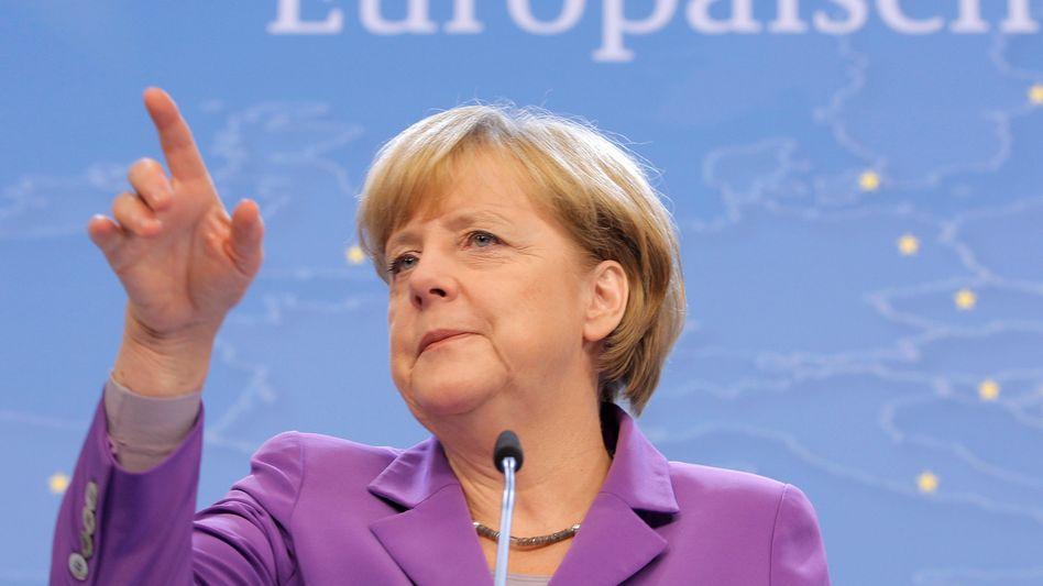 """Kanzlerin Merkel in Brüssel: Wir suchen eine Grundlage"""""""