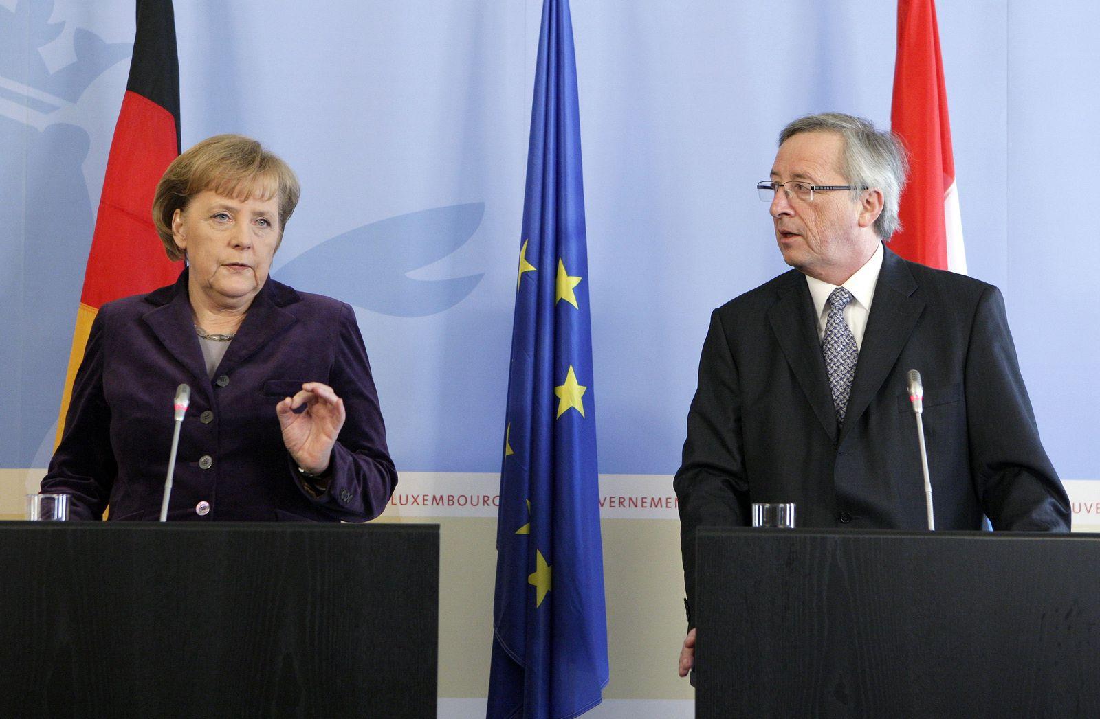 Merkel / Juncker