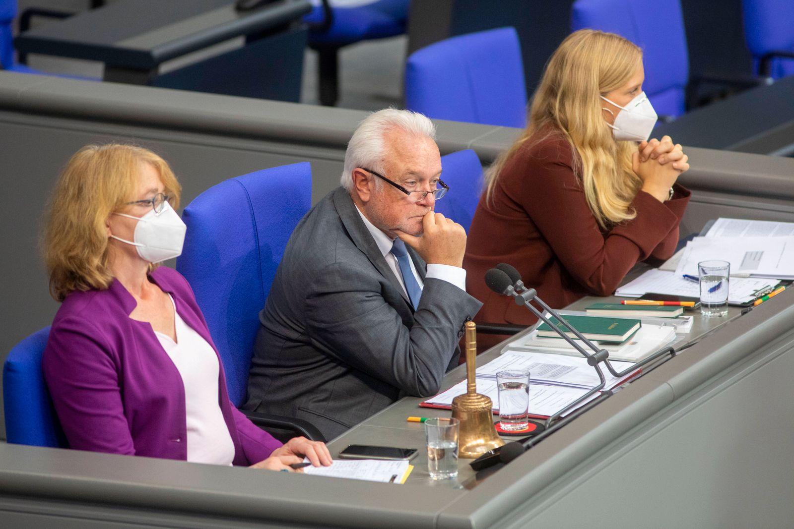 Deutschland, Berlin, Bundestag, Aktuelle Stunde zum Thema Mobilität, Wolfgang Kubicki FDP stellv. Bundestagspräsident, 0