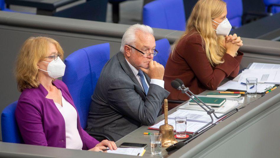 Bundestagsvizepräsident Wolfgang Kubicki im Parlament