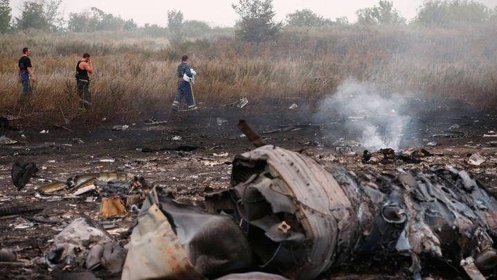 """Absturz von Malaysia Airlines MH17: """"Gebete für die Familien"""""""