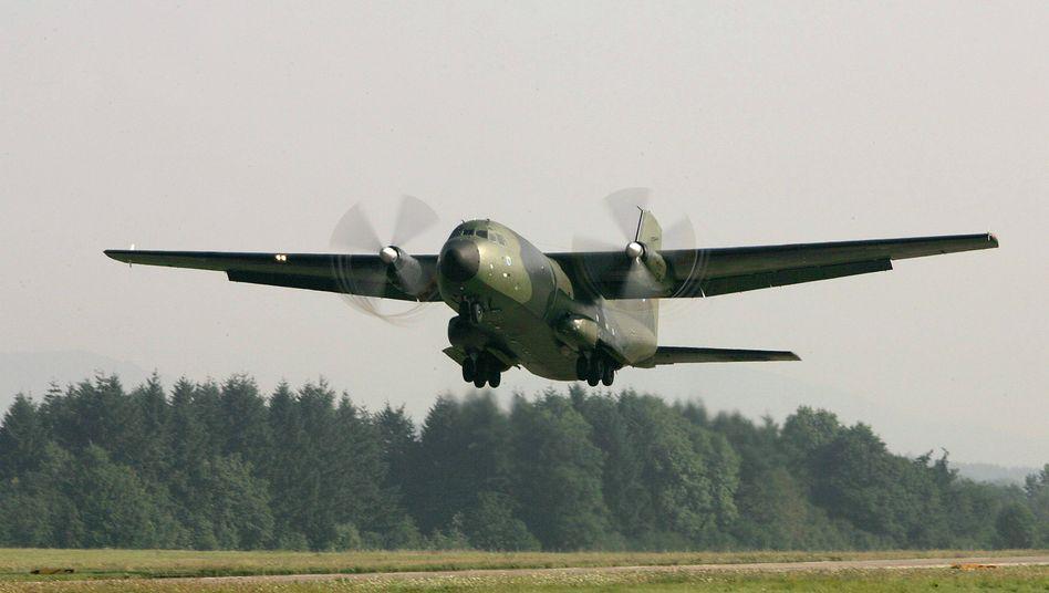 Bundeswehr-Transall: Lufttransporte eher schwierig
