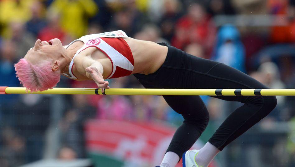 Hochspringerin Friedrich: Erneut Olympianorm verpasst