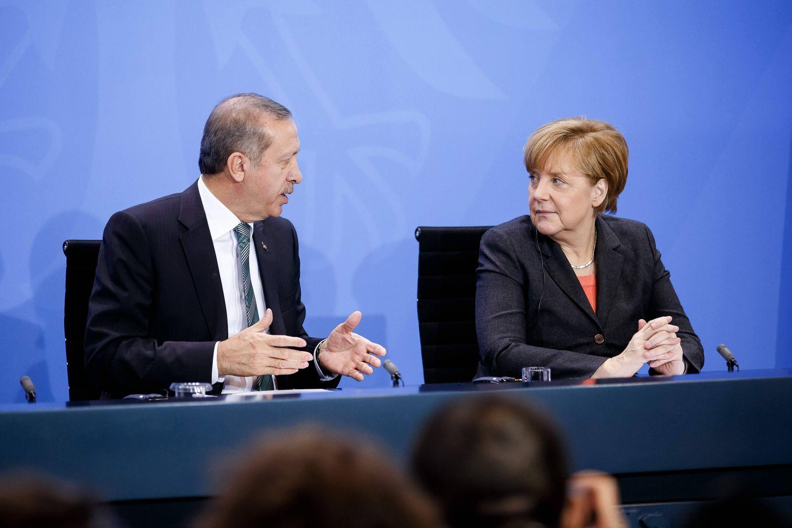 EINMALIGE VERWENDUNG Merkel/ Erdogan