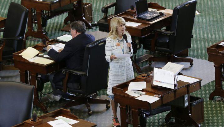 Texas: Die Elf-Stunden-Rede der Wendy Davis