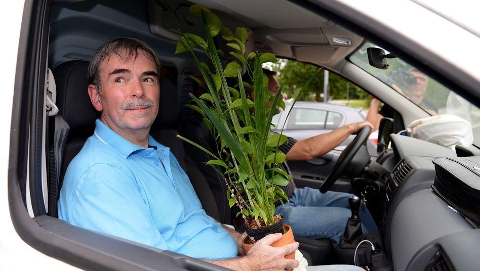 August 2013: Gustl Mollath verlässt die Psychiatrie