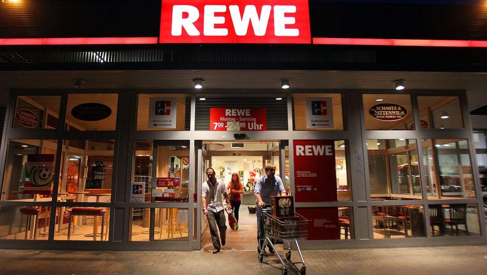 Rewe-Filiale in Köln (Archivbild)