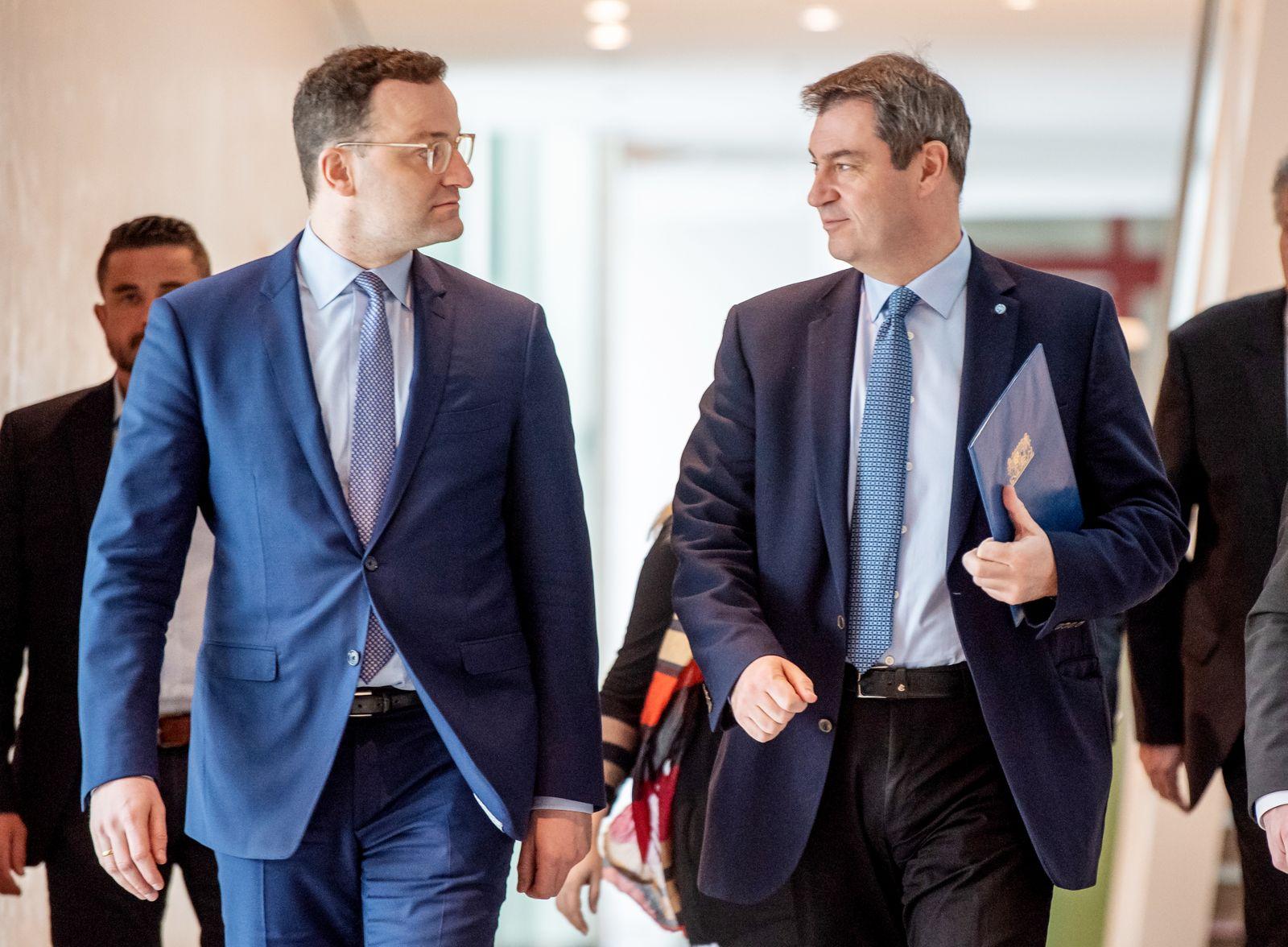 Coronavirus - Bayern - Kabinettssitzung