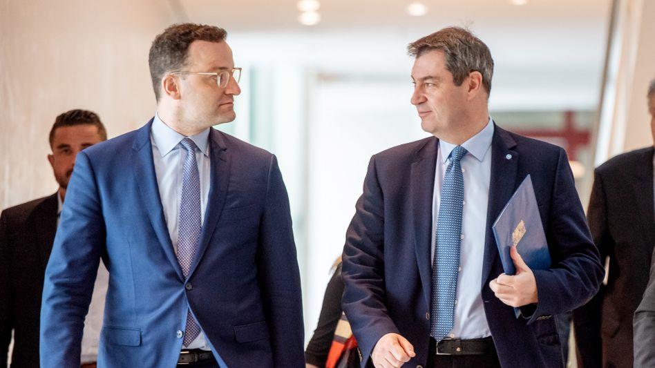 Unionspolitiker Spahn, Söder