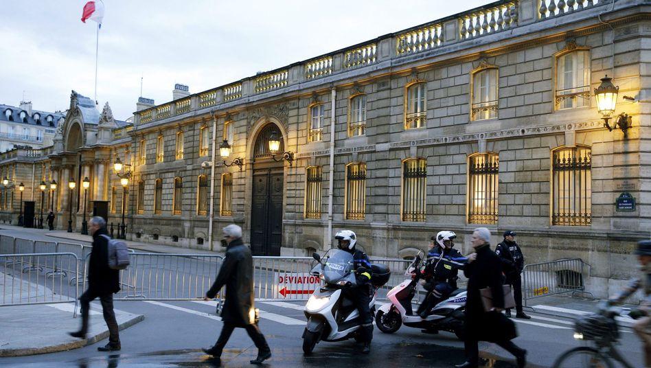 """Polizisten vor dem Elysée-Palast: Keine Verbindung zum """"Charlie Hebdo""""-Anschlag"""