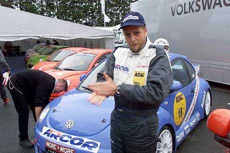 Veteranen des deutschen HipHop: Heute trifft man Smudo auch bei arrivierten Events (beim Formel-1-Grand Prix auf dem Nürburgring 2000)