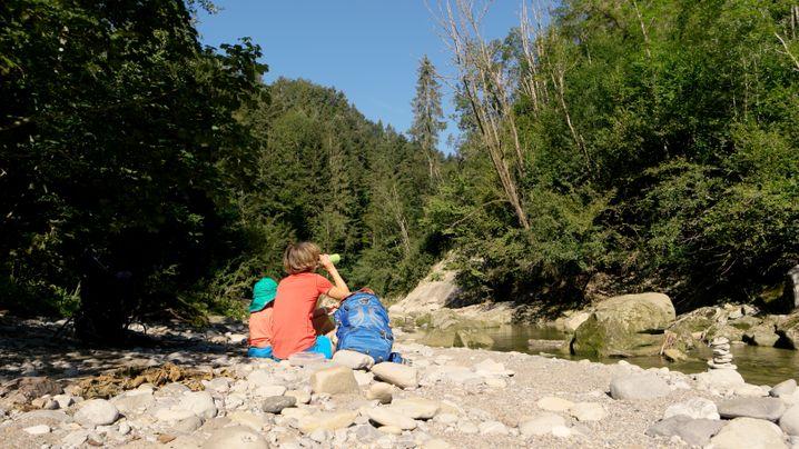 Wandern mit Kind: Im Reka-Dorf im Appenzeller Land