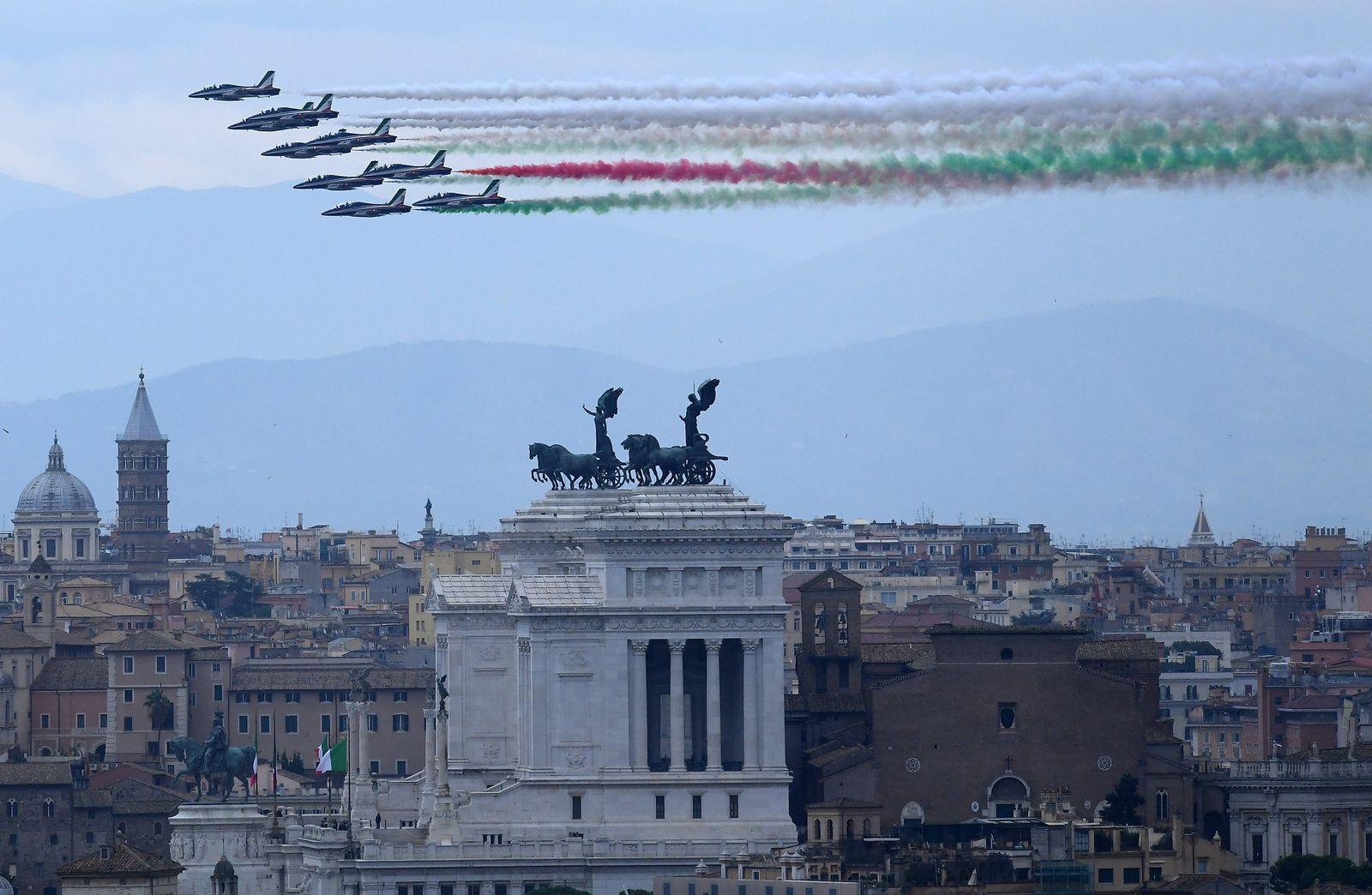 Tag der nationalen Einheit und der Streitkräfte in Italien