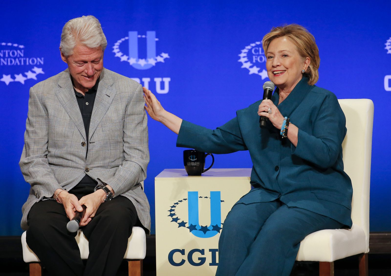 Bill Clinton/ Hillary Rodham Clinton