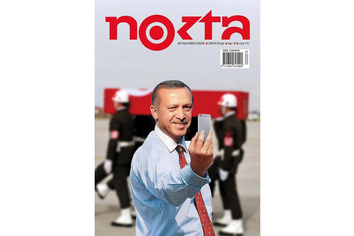 EINMALIGE VERWENDUNG Erdogan/ Nokta NUR ALS ZITAT