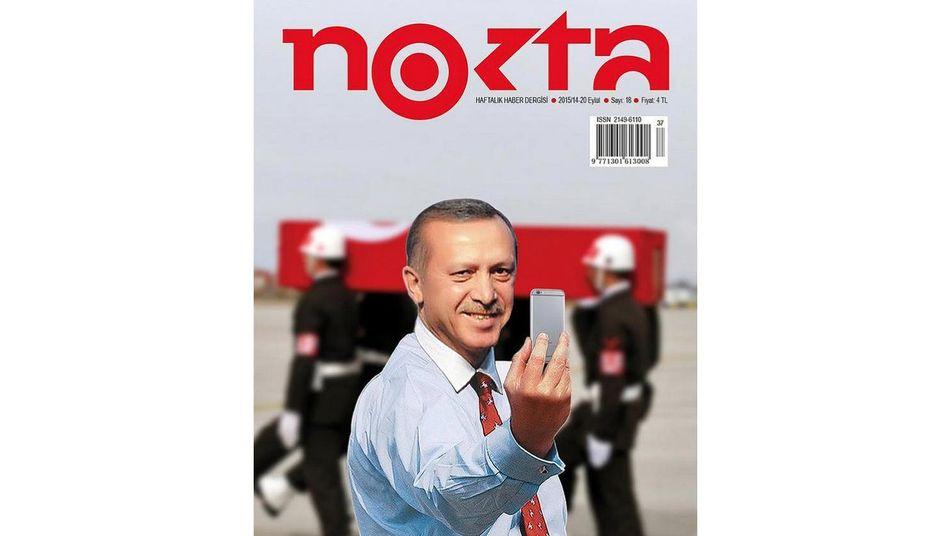 "Erdogan-Cover des Magazins ""Nokta"""