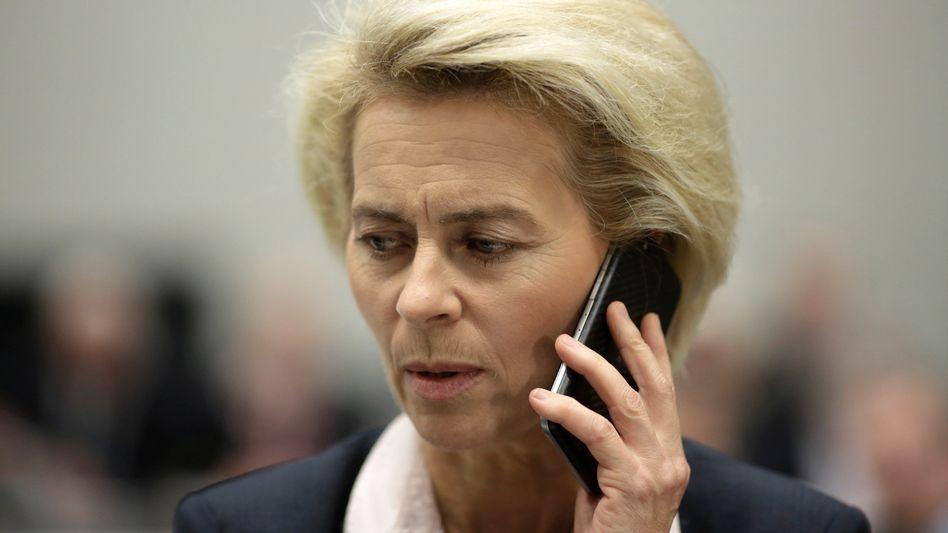 """Ursula von der Leyen: """"Keine Zukunft mit Assad"""""""