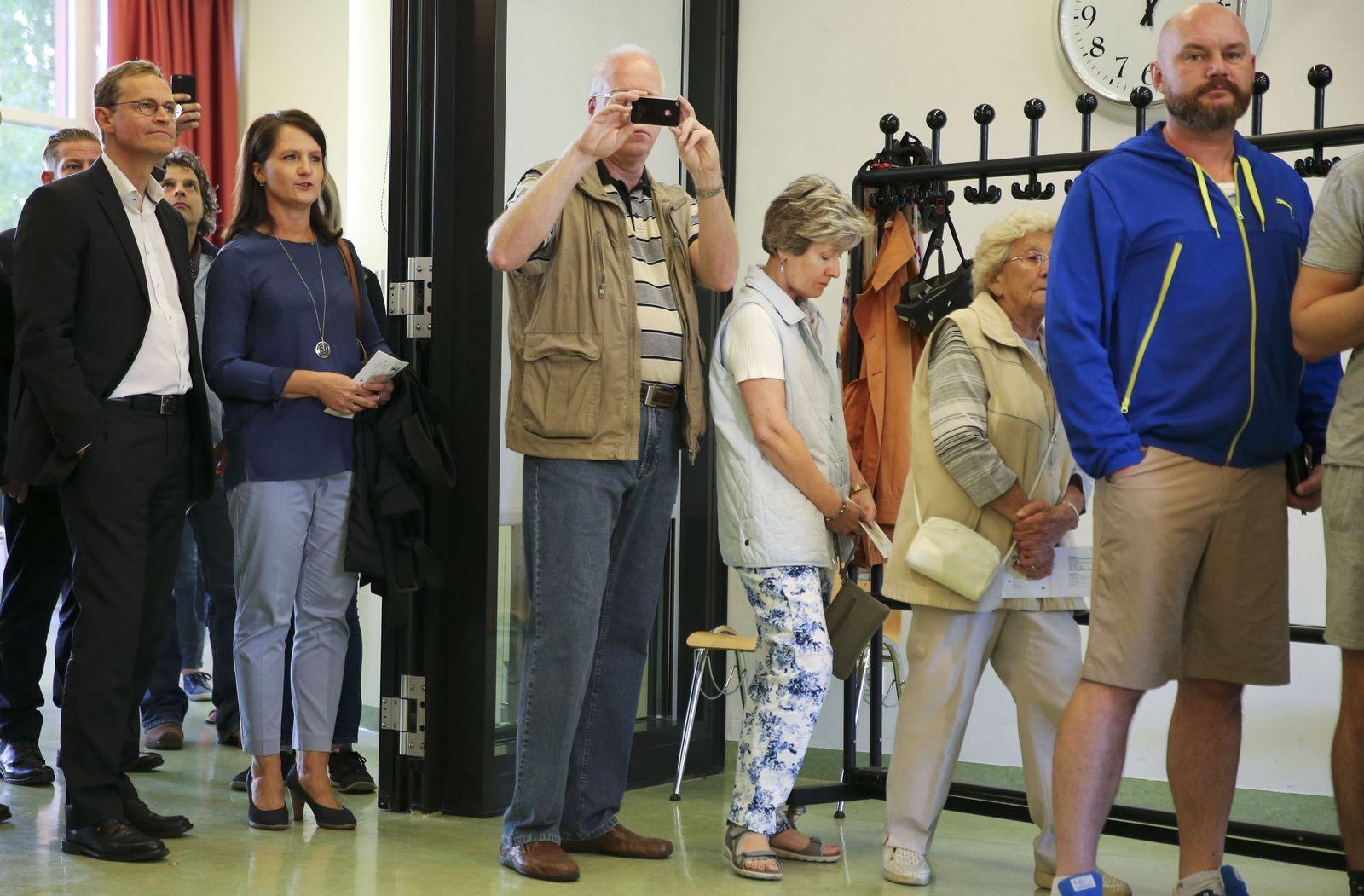 Wahl Berlin 2016/ Wahlbeteiligung