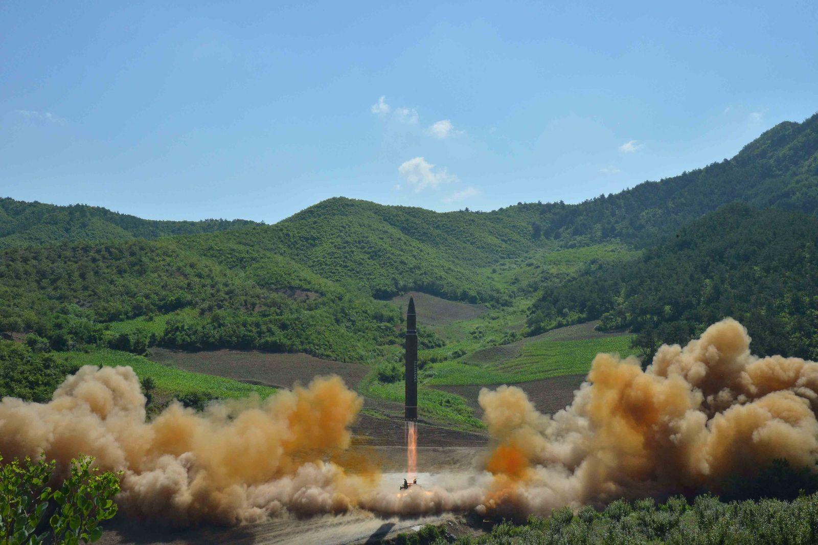 Nordkorea/ Raketentest