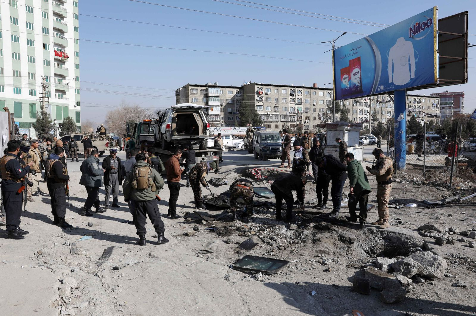 Kabul's deputy governor killed in IED explosion in Kabul, Afghanistan - 15 Dec 2020
