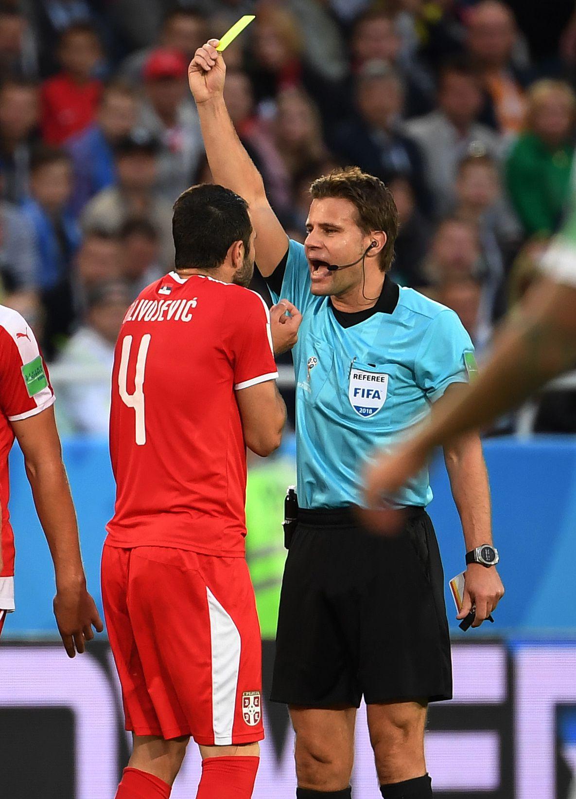 Serbien Schweiz Schiedsrichter