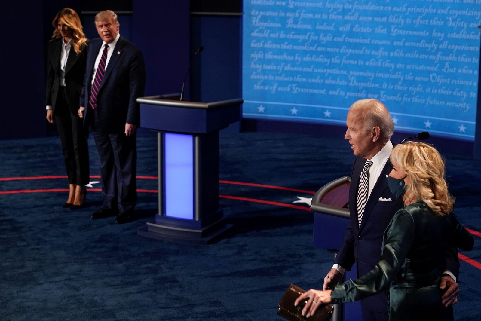 2020 presidential campaign debate in Cleveland
