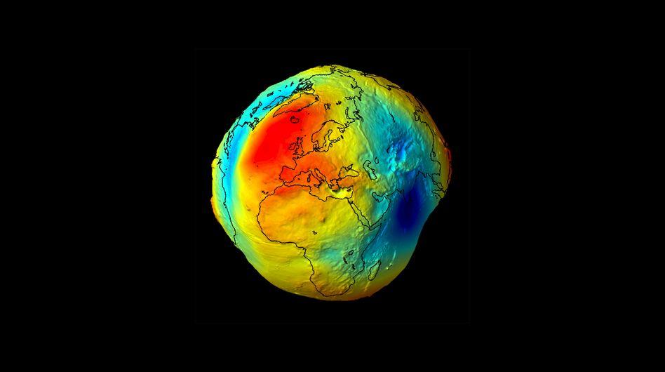 Schwerefeld der Erde: Präzise Vermessung mit Atomuhren möglich
