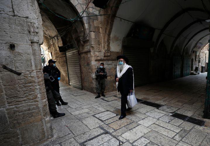 In arabischen und ultraorthodoxen jüdischen Wohnvierteln in Israel hatte es zuletzt hohe Infektionszahlen gegeben