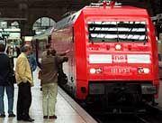 Die Deutsche Bahn schleppt sich in den Osten