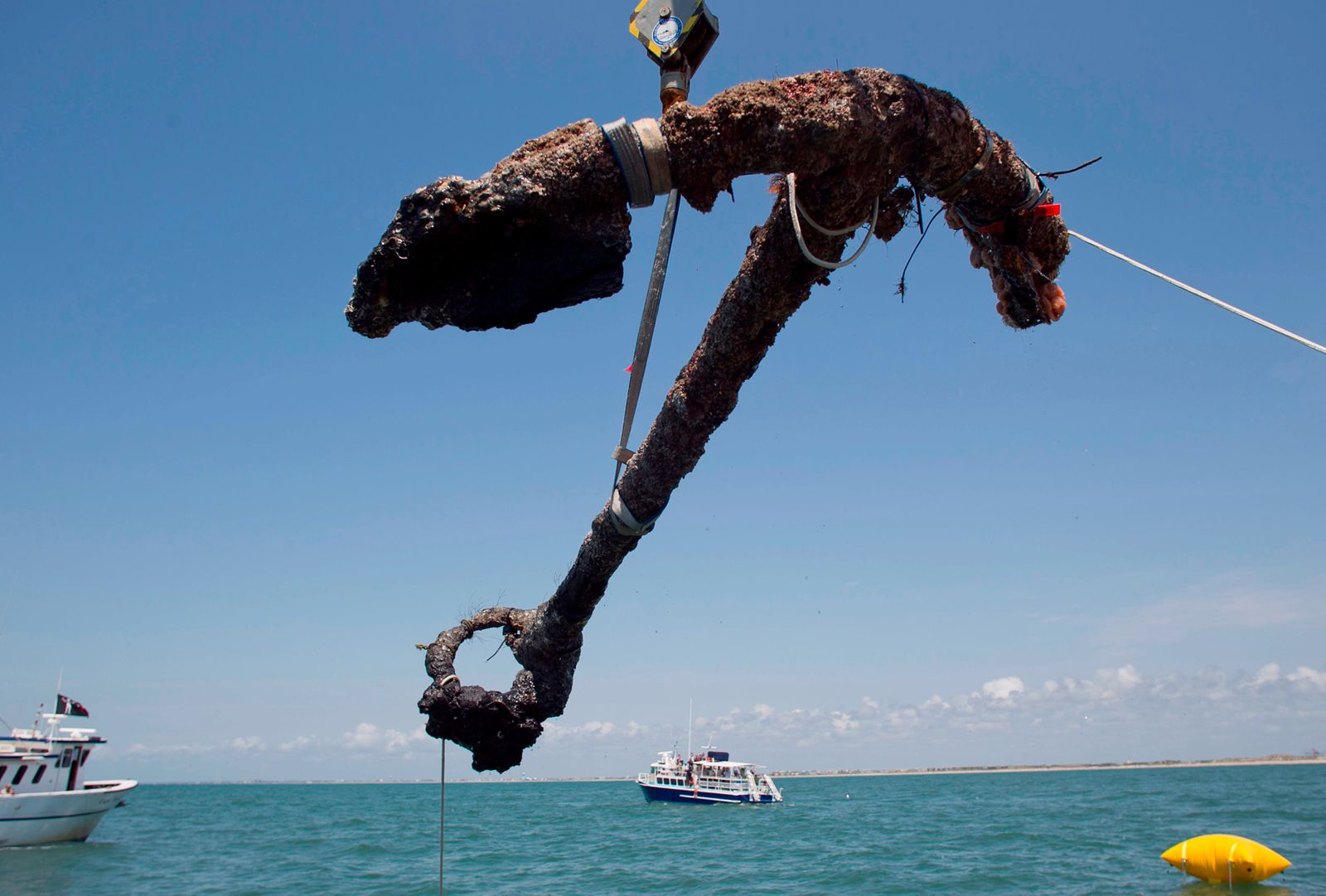 Raising Blackbeard's Anchor