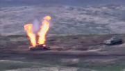 Videos zeigen angeblich Beschuss von aserbaidschanischen Panzern