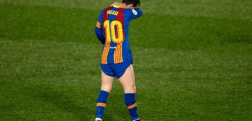 FC Barcelona im Clásico: Machtloser Messi