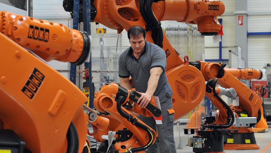 Kuka: Der Roboterhersteller ist ein möglicher Gewinner der Japan-Krise