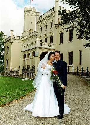 Hochzeit in herrschaftlicher Umgebung auf Schloss Reichenow