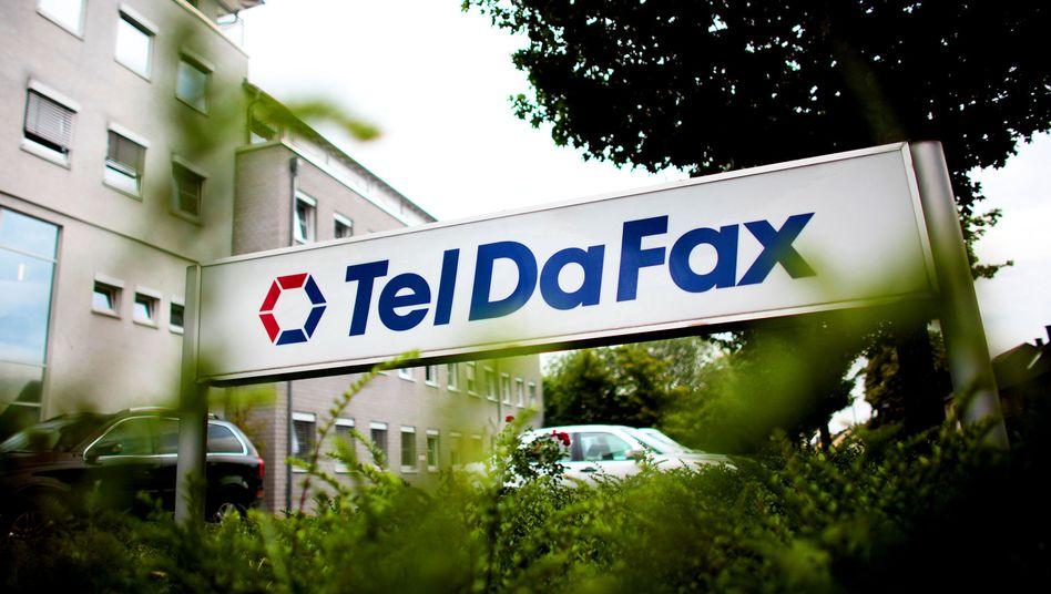Teldafax-Zentrale in Troisdorf bei Bonn: Im Juni meldete das Unternehmen Insolvenz an
