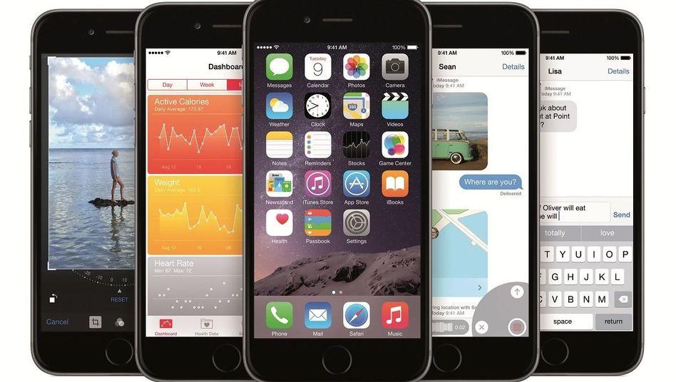 Apple-Betriebssystem iOS 8: Neue Funktionen auch für ältere Geräte