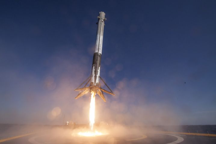 SpaceX-Rakete