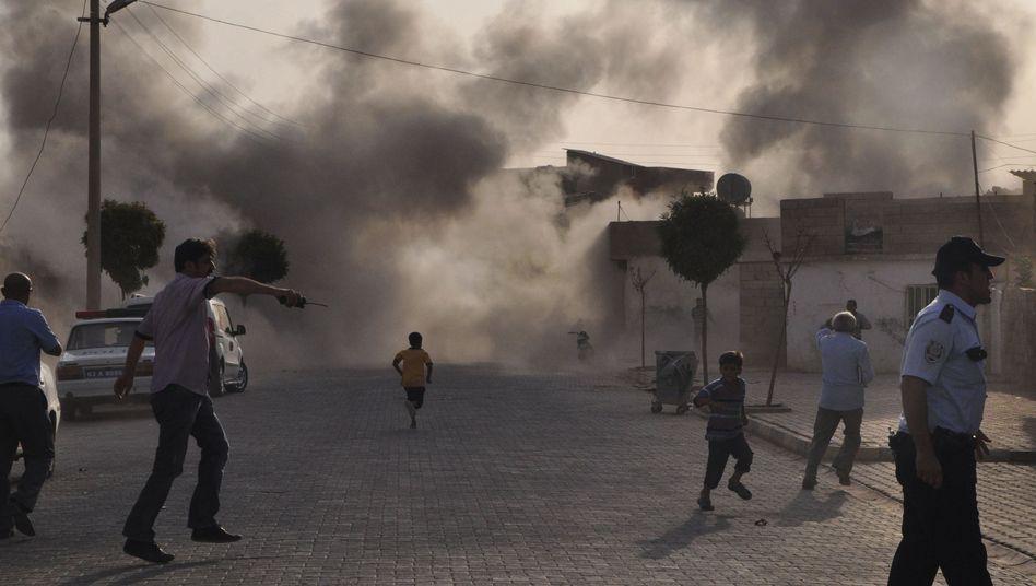 Vergeltung nach Raketenbeschuss: Türkei setzt Angriffe auf Syrien fort