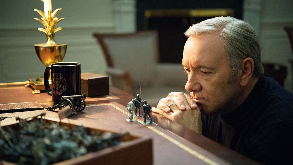 "Kevin Spacey in der Netflix-Serie ""House of Cards"""