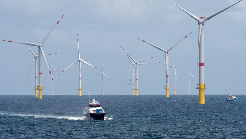 "Offshore-Windpark ""Nordsee 1"" vor Spiekeroog"