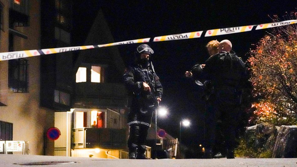Polizeieinsatz in Kongsberg in der vergangenen Nacht