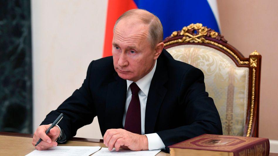 Russlands Präsident Wladimir Putin will die Treibhausgase in seinem Land reduzieren