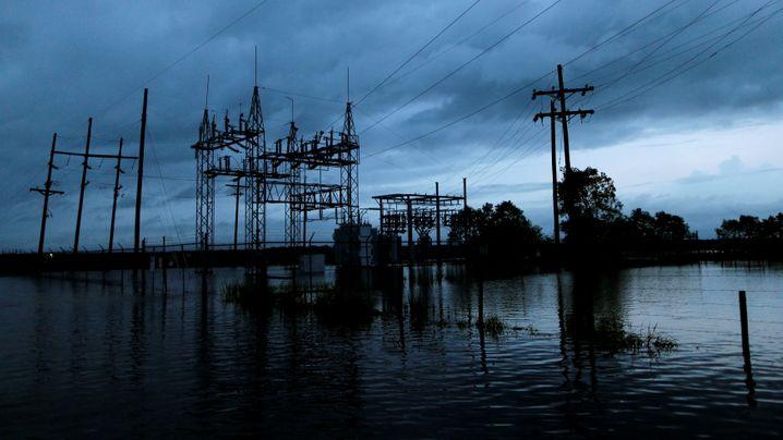 """Tropensturm: """"Harvey"""" zieht Schneise der Verwüstung"""