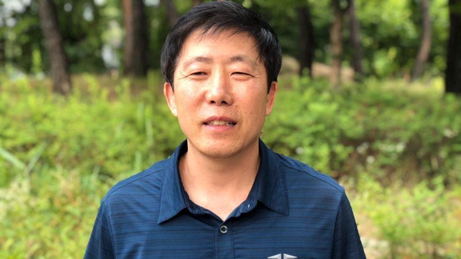 Mag Luftballons, Kim Jong Un nicht: Park Sang-hak aus Südkorea